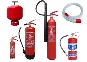 Prenosné a automatické hasiace prístroje