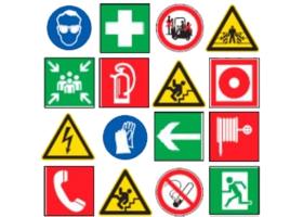 Bezpečnostné a požiarne značenia